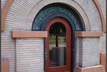 1903:  innovation in architecture, design and technology / A look at architecture, design and innovation at the beginning of the 20th century.  The board is meant to give historic perspective to Frank Lloyd Wright's Dana-Thomas house in Springfield IL.
