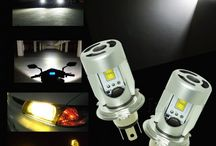 Philips LED Scooter Motorcycle Headlight