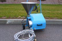 Jointoyeur & Jointoyeuse | DMD Europe / Machines électriques pour la réalisation propre et rapide des joints dallages au sol et joints pierres de parement au mur...
