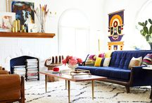 Mexican Modernism / #mexican #modernism #interiors #mid-century #midcentury modern #colour #pattern