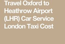 Oxford to LHR Car Services
