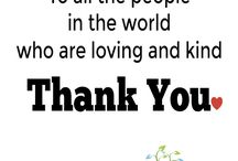 To say thanks and appreciate