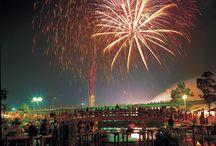 Summer / Seasonal scenery, festivals, foods, traditions of summertime in Japan.
