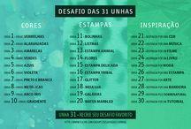 Desafio das 31 Unhas / :)