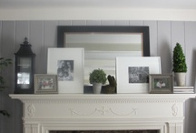 Fireplace Mantles / by Organically Opulent