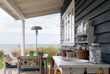 Outdoor kitchen spaces