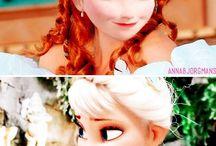 Anna. and. Elsa