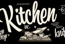 Kitchen font family