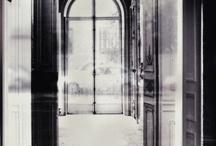 Porte vitrée.