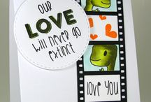 Joy Clair - Dino Love Stamp set / This board showcases projects created using our Dino Love  Clear stamp set.