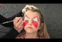 Malování na obličej (facepainting)