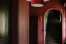 Glamour room - marsala palette