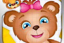 123 Kids Fun Paper Puzzle / #puzzle #kids #fun #apps #games #education #edtech