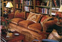Media Room/Library / Library and media room inspirations / by Mimi Moonbeam