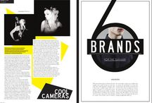 Fashion Magazine layouts