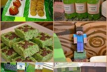 Mine craft party ideas. / by Teri George