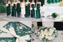 Emerald Green Wedding