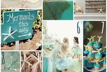 Little Mermaid birthday party / Birthday ideas for an under the sea / little mermaid party