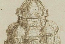 Da Vinci- Architecture and sculptures