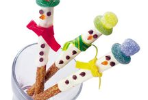 Winter-themed crafts, food ideas, and all-around cute projects
