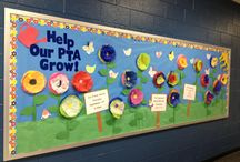 PTO Bulletin board ideas