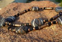 Men's Jewelry Designs / Wire and Bead DIY Jewelry designs for men