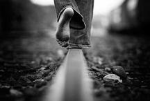Senior Portraits-Femail Railroad Tracks