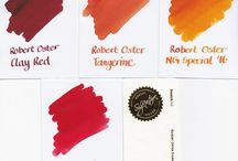 Robert Oster Signature inks / The Australian made signature inks from Robert Oster