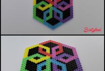 Mandala/Dream catcher/Perler beads