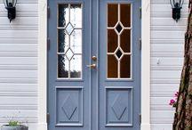 Ytterdörr eller lister