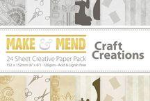 "6"" × 6"" Creative Paper Packs"