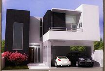 3 fachadas de casas modernas