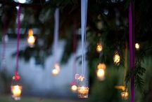 Light that creates {Hygge} / Fairy lights, candleligts, bonfires, hanging lamps - every light source that creates that special intimate hyggelige feeling!