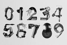 Experimental Typefaces / Alphabets / Digital