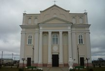 Ostrovec / Astraviec. Catholic church of St. Kosma and St. Damian (1785-87, XIX)