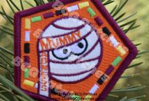 Girl Scout fun patches w/requirements