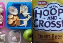 Themed Lunchbox Ideas #HoopsandCrosses  / Amazing entries into the #HoopsandCrosses lunchbox competition with Walkers - to design a great kids' lunchbox  / by TOTS 100