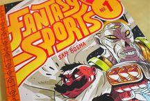 Fantasy Sports #1 by Sam Bosma