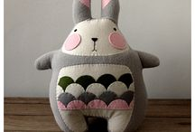 Crafts - Plushies and Dolls / Adorable plushes, dolls, and other handmade toys.  / by Rebecca Greco