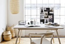 Work Space Ideas / A compilation of work space aesthetics we aspire to create!