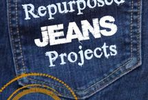 Old jeans DIY projects