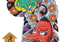Tatouages Japonais