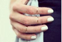 Midi knucles rings