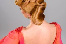 Avantgarde / Simple updo with some extravagant touch