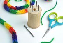 špulka pletení
