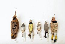 still birds