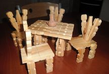 Madera muebles mini