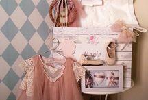 Vintage pink / Σετ Βαπτισης