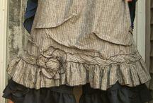 Vaatteita pellavatyyliin