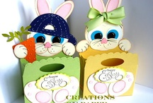 Candy: Easter Boxs & Bags / Unusual ways to give candy for a holiday. / by Jim/Leila Thompson